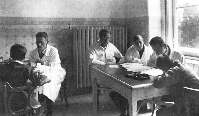 Hans Asperger a lavoro