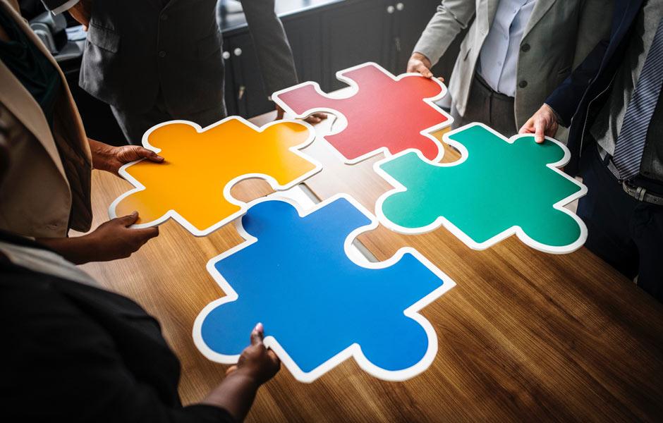 Integrare i saperi e collaborare puzzle