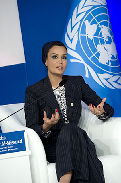 Mozah bint Nasser al-Missned